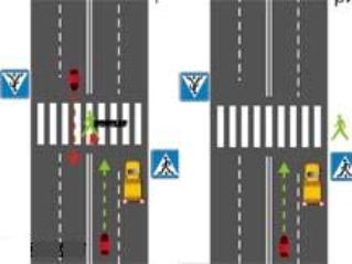Пешеходный переход запрещено